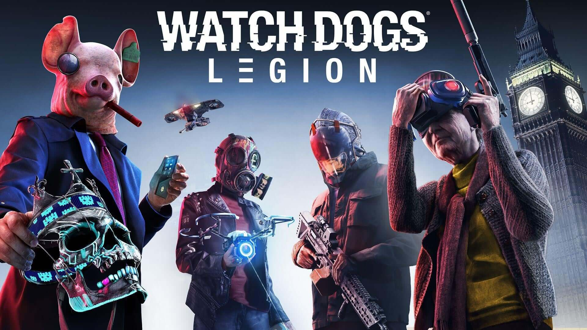 Watch Dogs Legion is Now Available