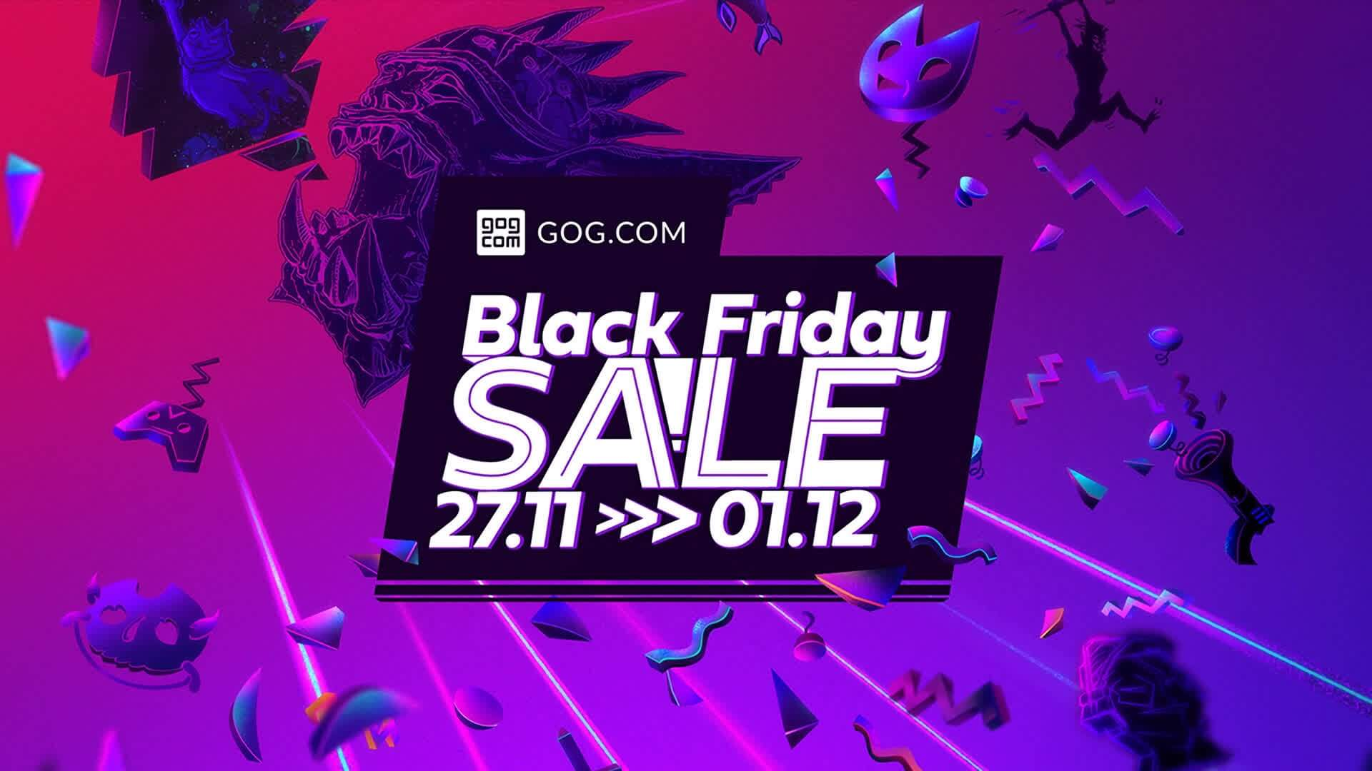 GOG Black Friday Sales Start Now with Flash Sales Changing Everyday
