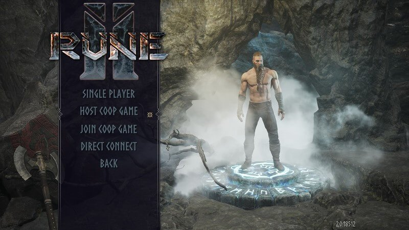 RUNE II How to play co-op with friends