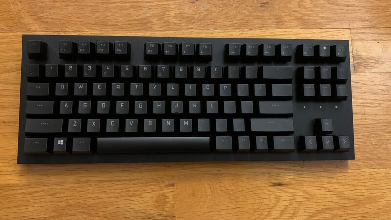 Omen Spacer picture of keyboard