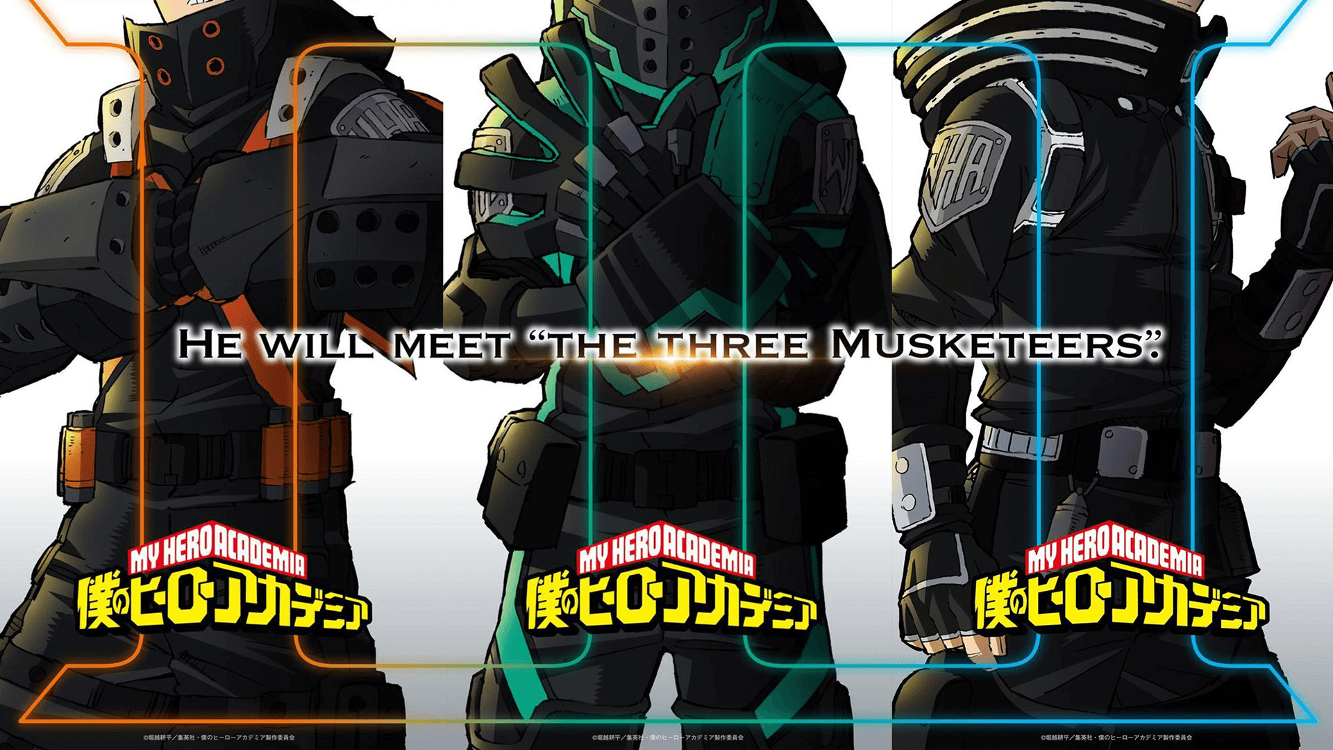 My Hero Academia Visual For New Project Revealed