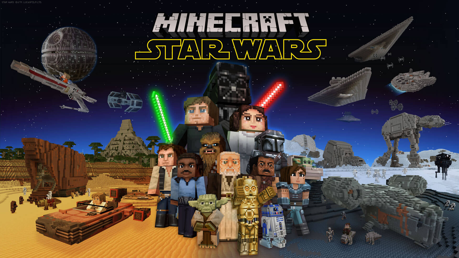 Star Wars Brings the Force to Minecraft