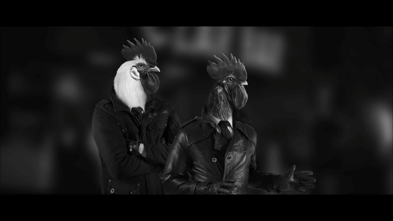 Chicken Police - Paint It RED! sonny and marty