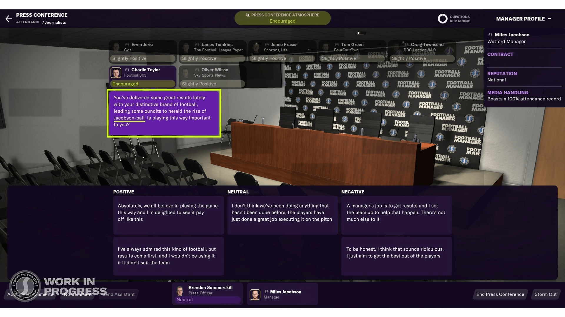 Football Manager 2021: Get Your Style of Football Named After You