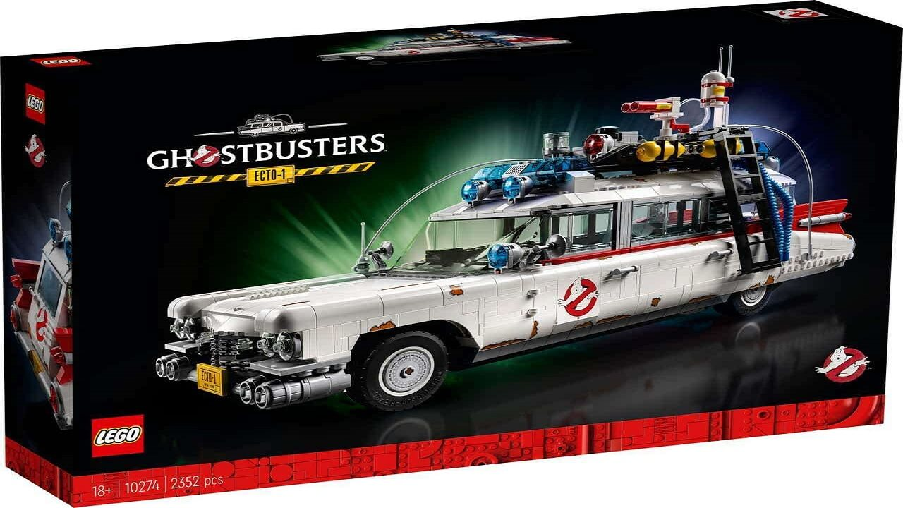 Lego Ghostbusters Afterlife Ecto-1 Available Now