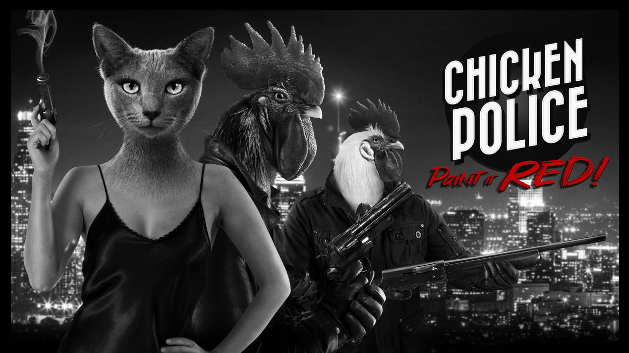 Chicken Police - Paint It RED! Review - Cluck It Up
