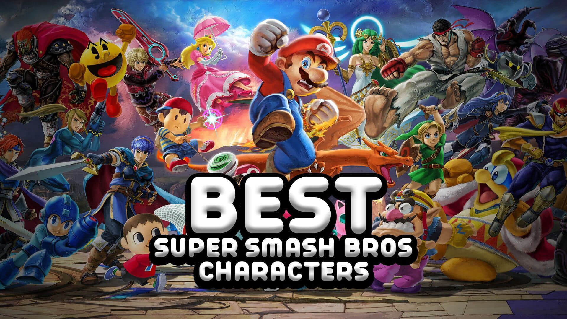 The 10 Best Super Smash Bros Characters of All Time