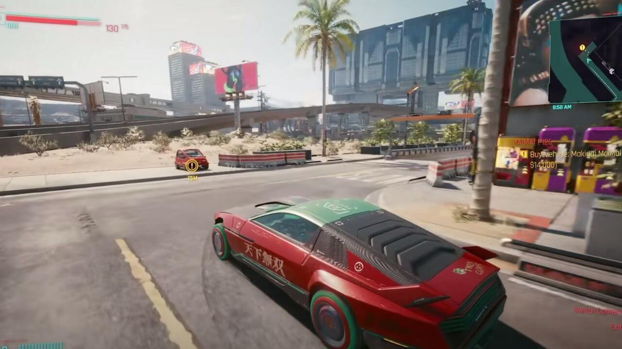 Cyberpunk 2077 Guide - How to Buy Cars