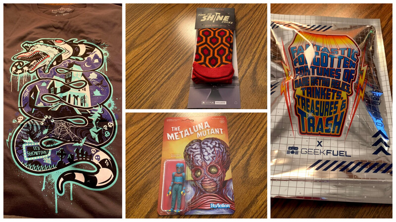 Geek Fuel Collage of October Box