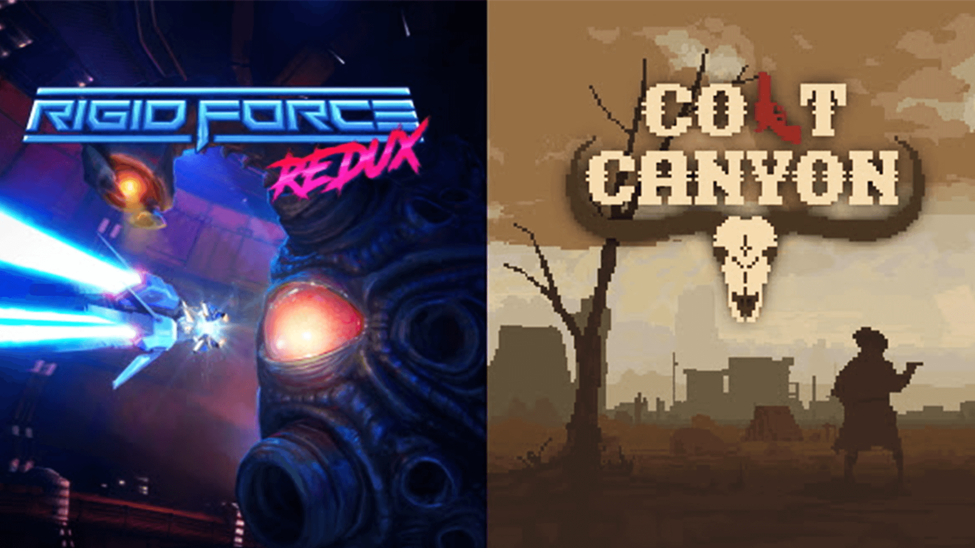 Rigid Force Redux and Colt Canyon Out On PS4!
