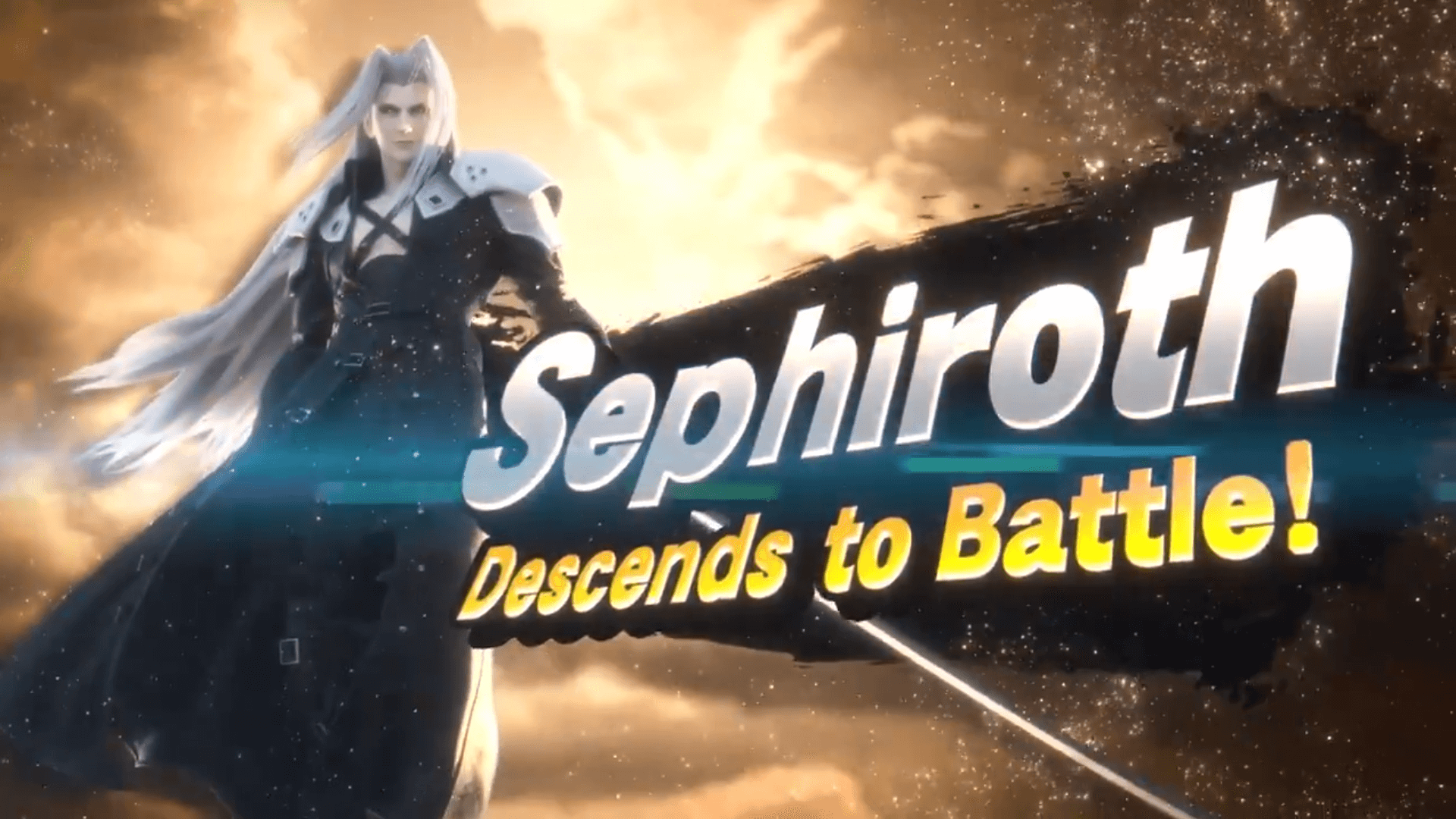 Sephiroth Joins Super Smash Bros Ultimate as the Eighth DLC Fighter
