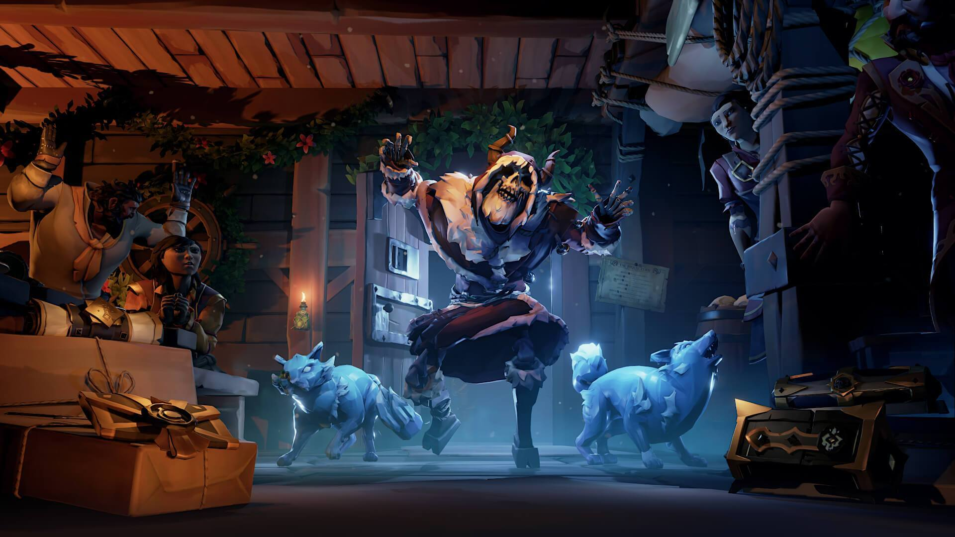 Sea of Thieves: Festival of Giving is Now Available