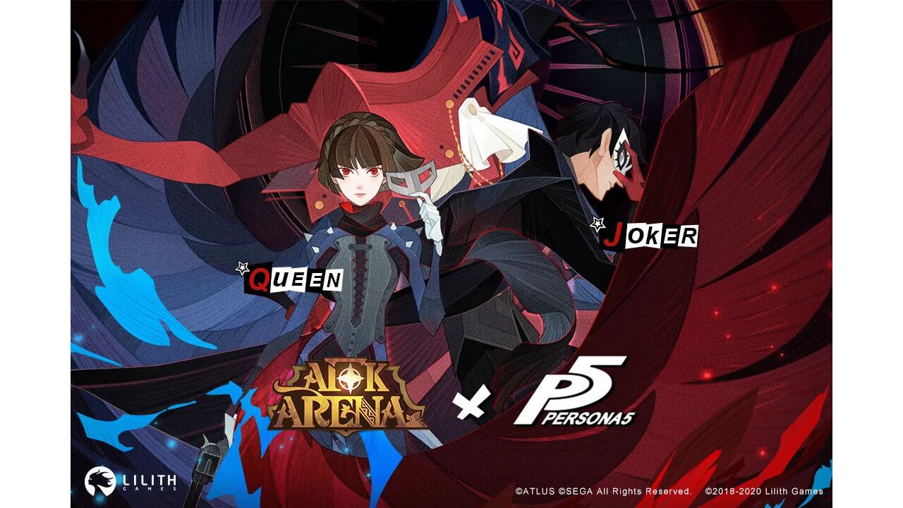 Joker & Makoto From Persona 5 Come To AFK Arena