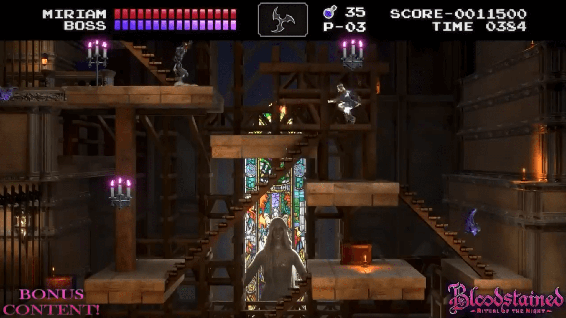 Bloodstained: Ritual of the Night Classic Mode Releases Next Month