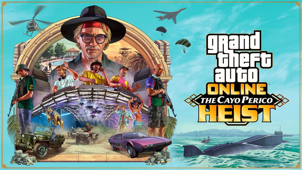 GTA Online: Cayo Perico Heist – All New Vehicles and Weapons