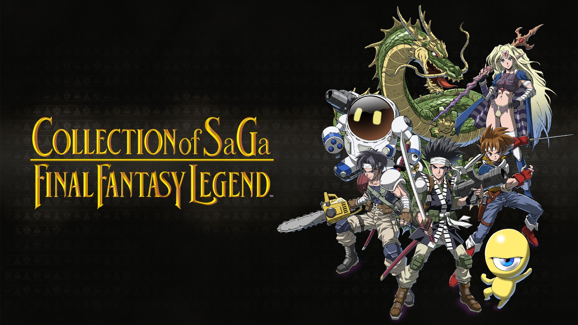 COLLECTION of SaGa FINAL FANTASY LEGEND Releases Today