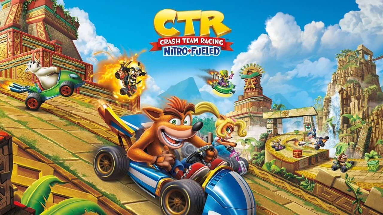 Crash Team Racing is Free on Switch For a Limited Time
