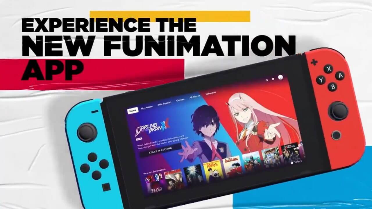 Funimation Comes to Nintendo Switch