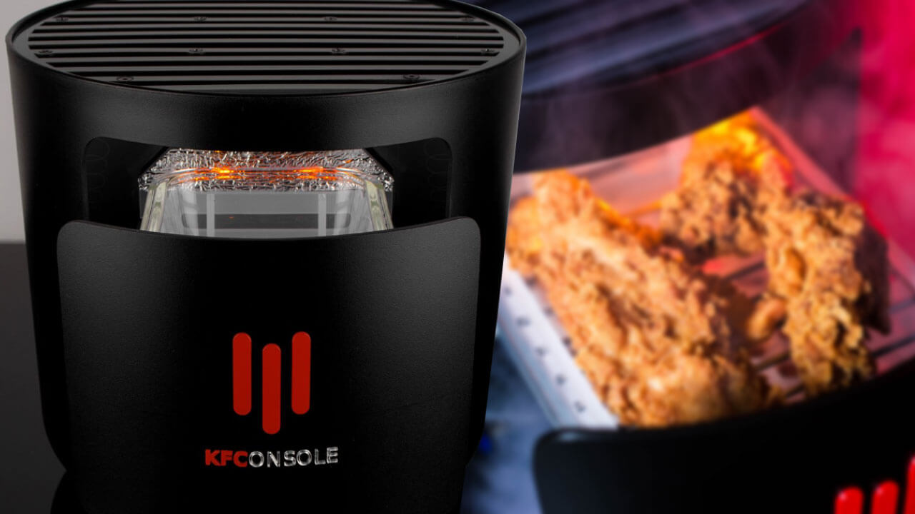 KFC Joins The Console War With The 'KFConsole'
