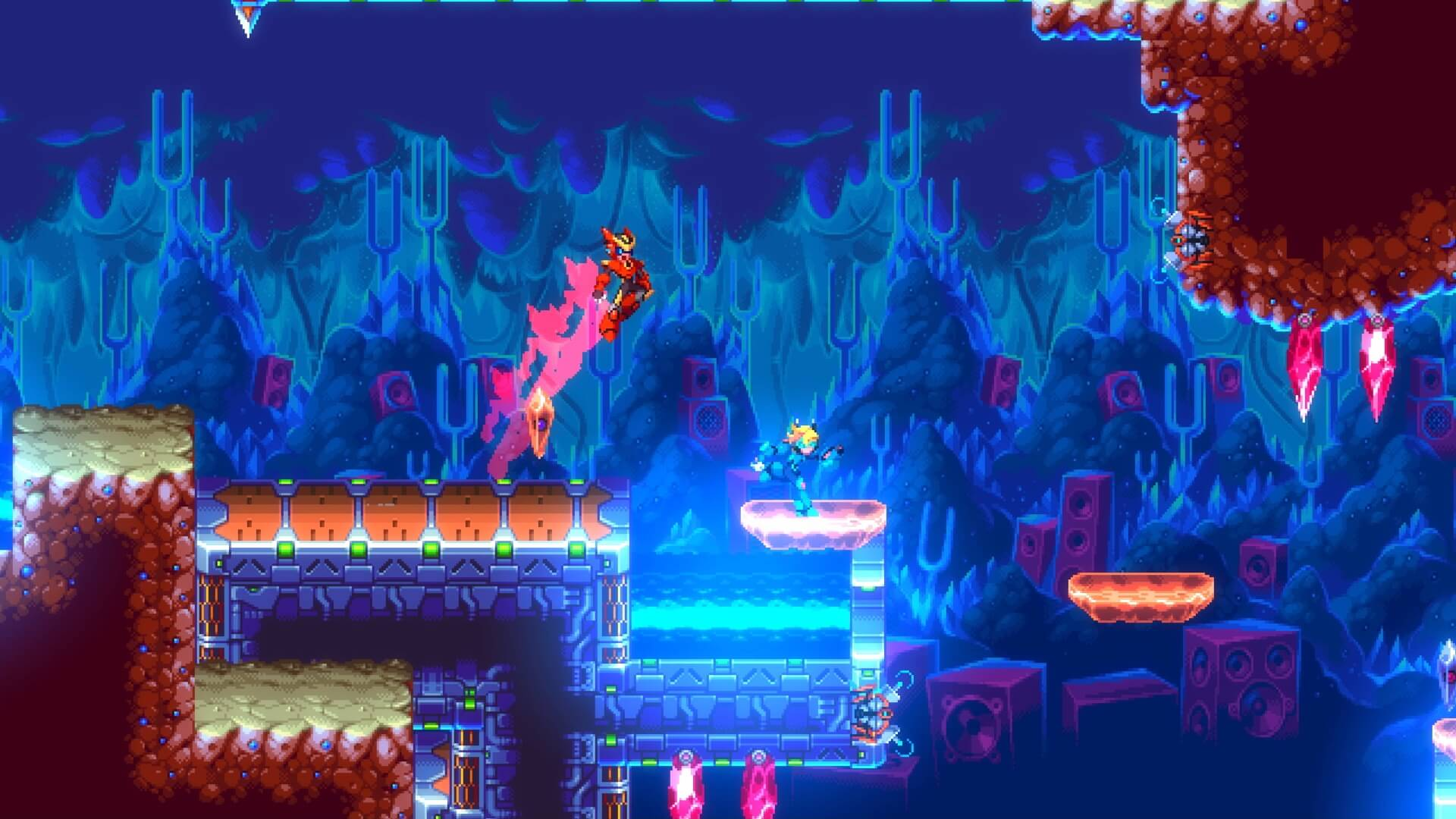 Action-Platformer 30XX Joins Early Access Next Month