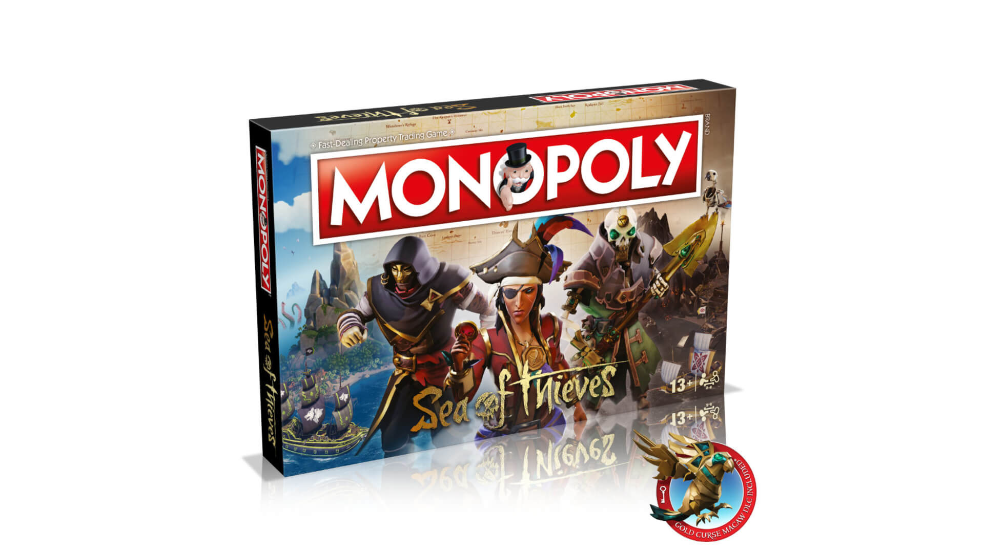 Sea Of Thieves Gets Its Own Monopoly Set