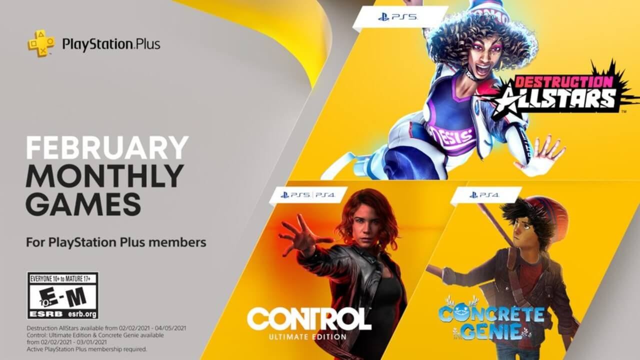 PlayStation Plus: Here are the Games for February