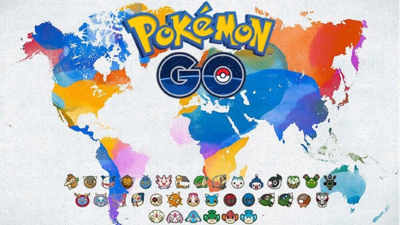 All Regional Pokemon Go Pokemon Locations
