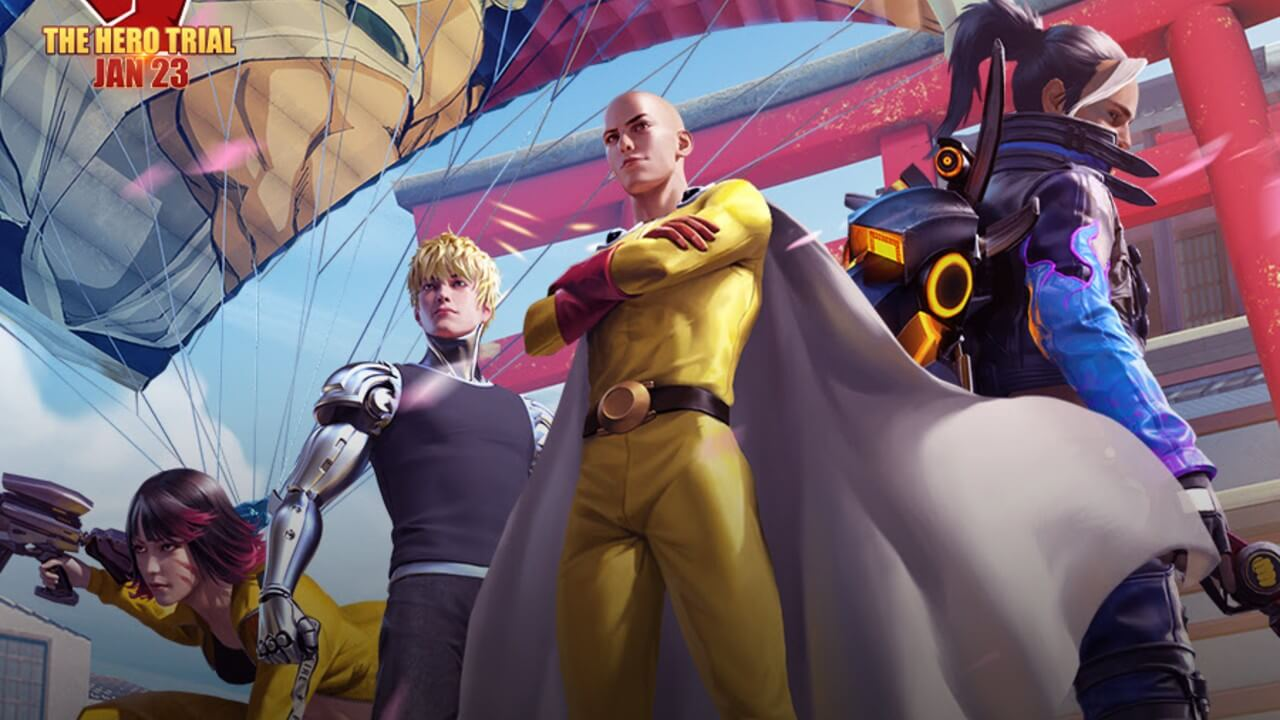 Free Fire x One Punch Man Collab Unleashes Inner Hero