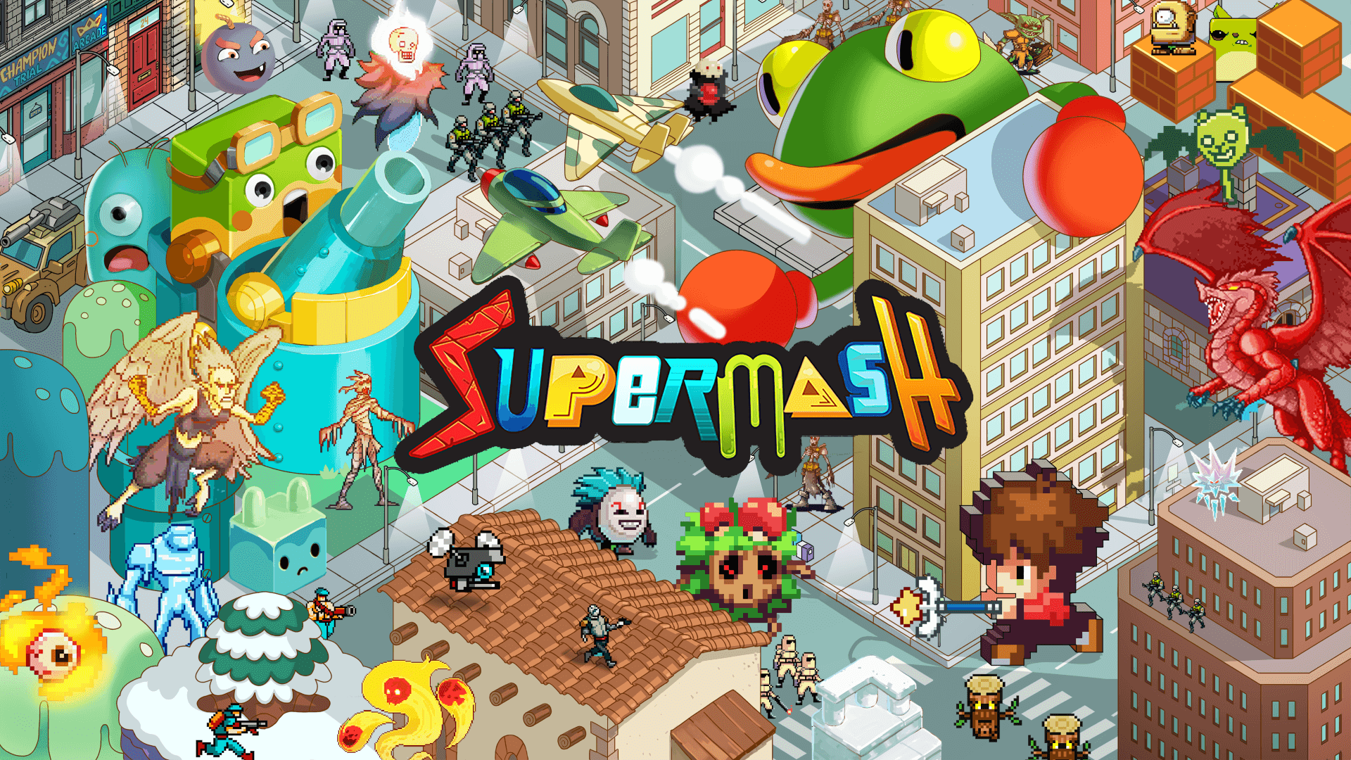 SuperMash is Coming to Steam on January 13th