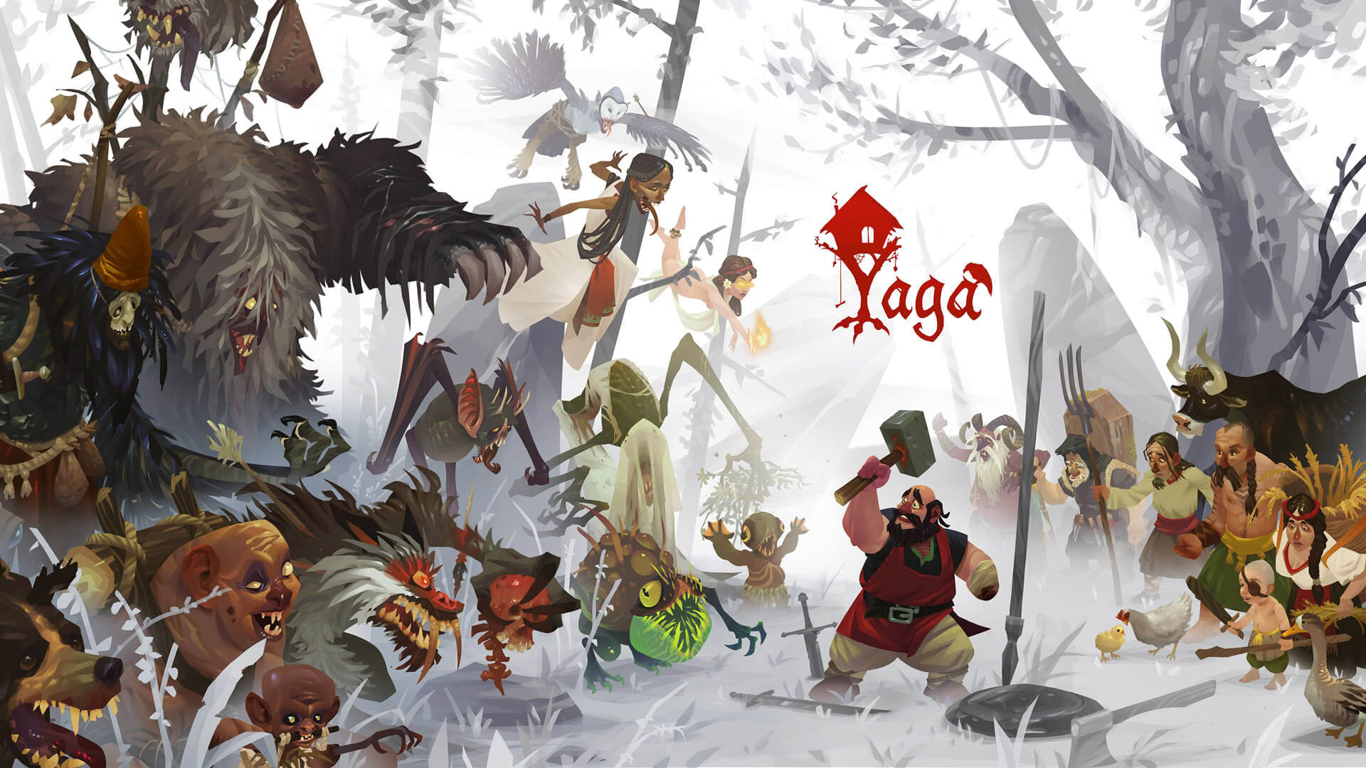 Yaga, an Indie Action RPG, is Now Available on Steam