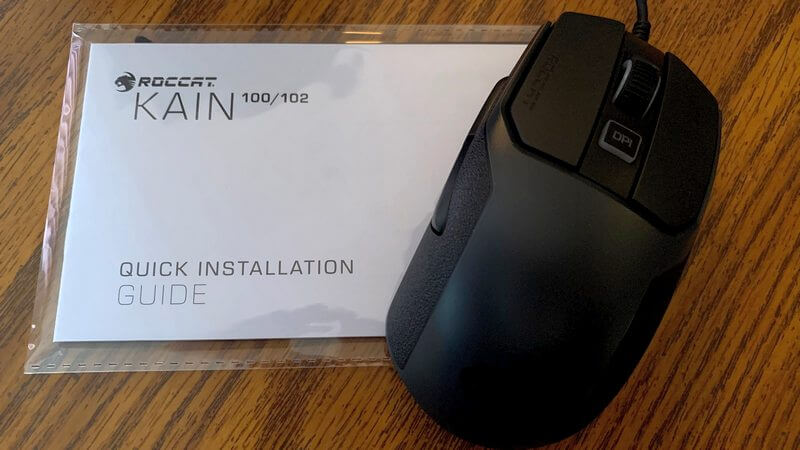 ROCCAT Kain 100 Aimo Contents of package photo