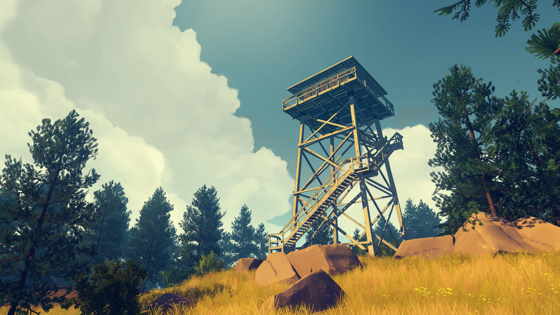 Anniversary of Firewatch Celebrated With Surprise