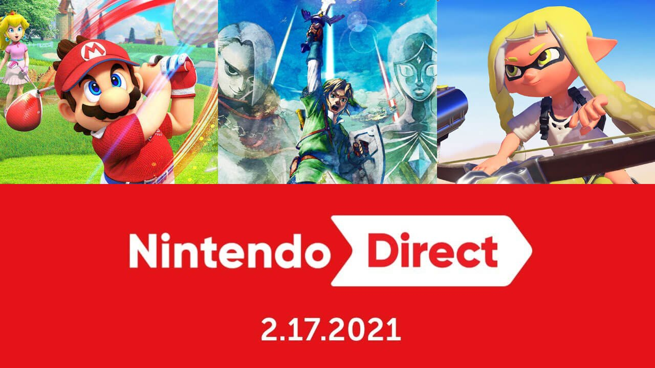 February 2021 Nintendo Direct: Everything Announced