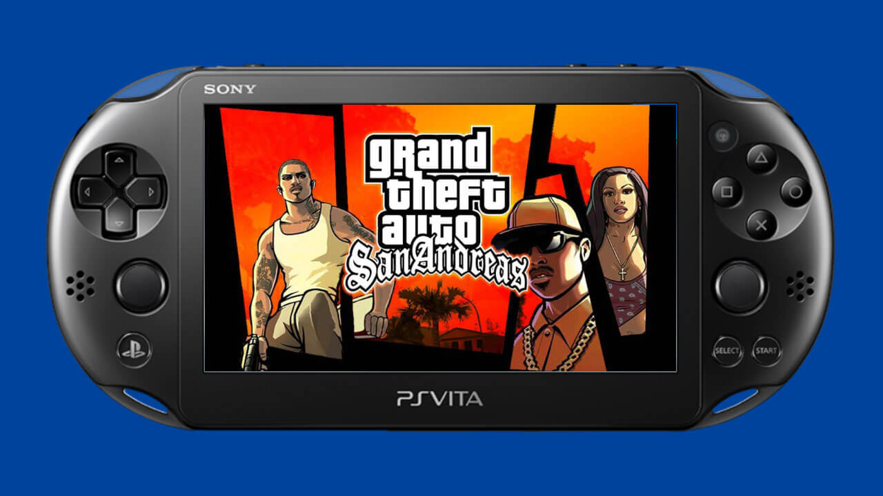 All PS2 GTA Games Are Now Playable on PS Vita