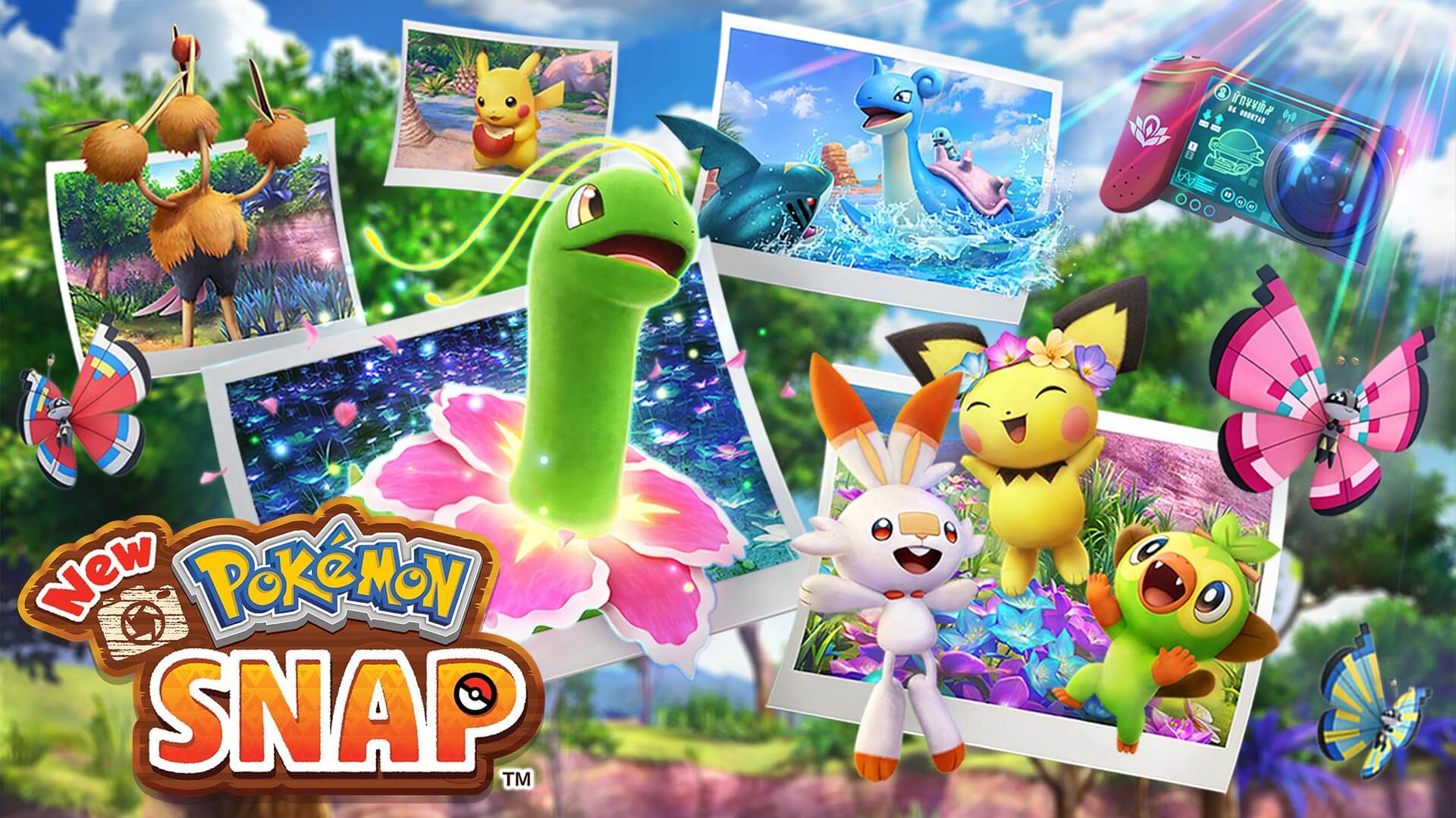 Latest Footage of New Pokémon Snap Released