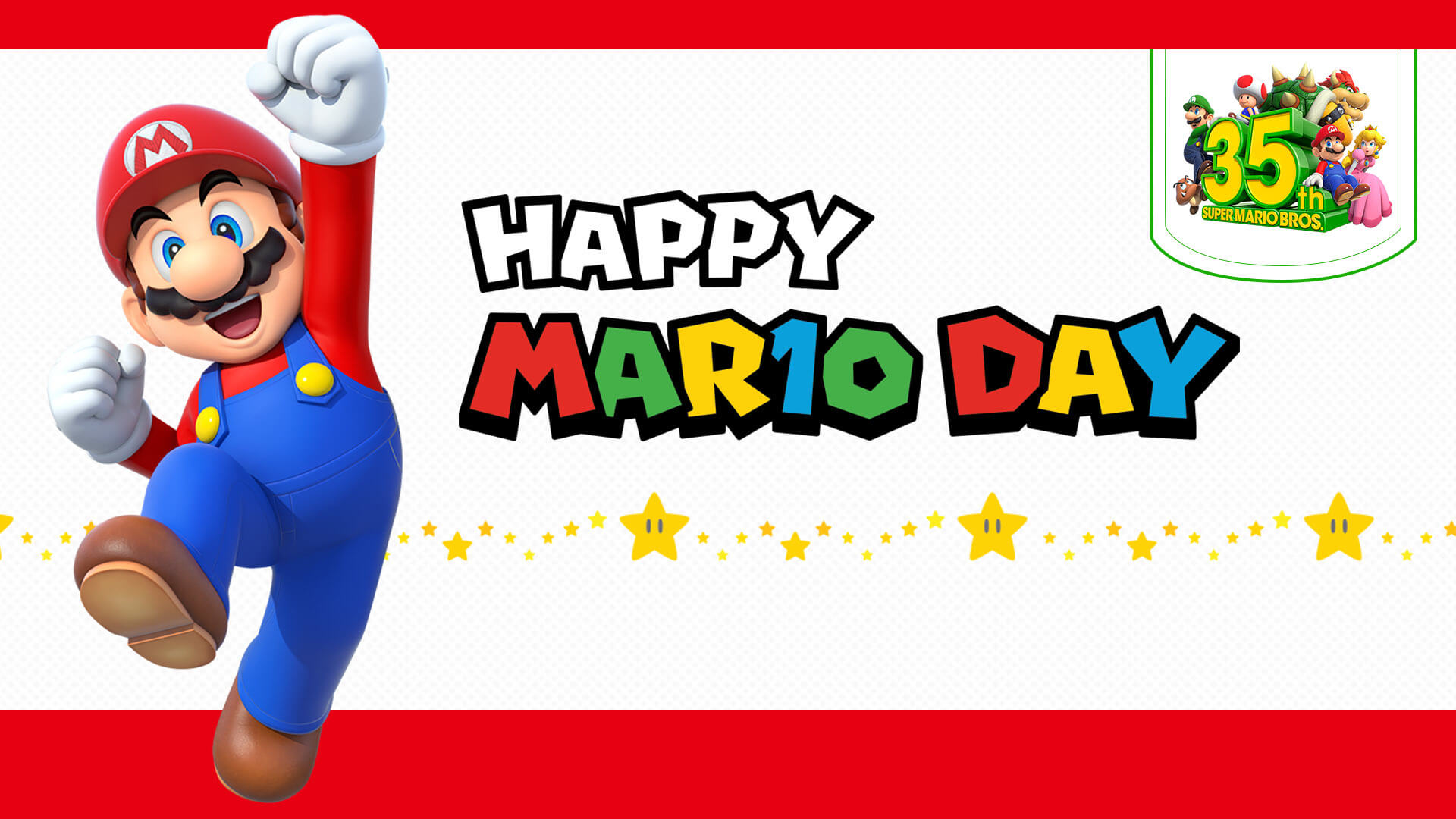 Nintendo Celebrates MAR10 Day With Sales and In-Game Events