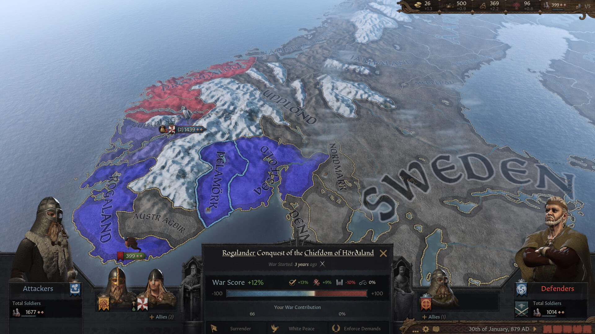 Crusader Kings 3 Is Getting Norse-Themed DLC