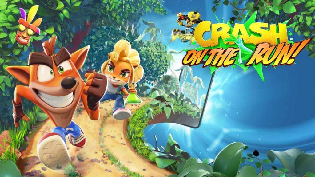 Crash Bandicoot: On the Run! Comes to Mobile Platforms on March 25