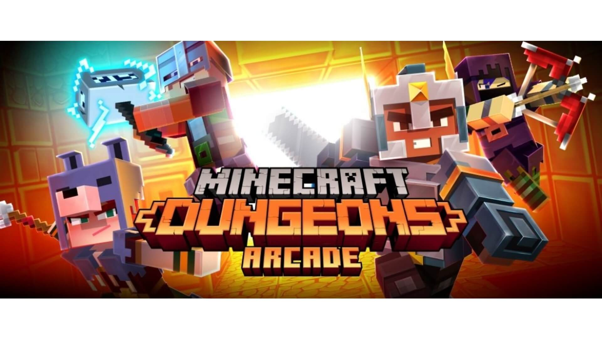 Minecraft Dungeons is Getting Turned Into an Arcade Cabinet