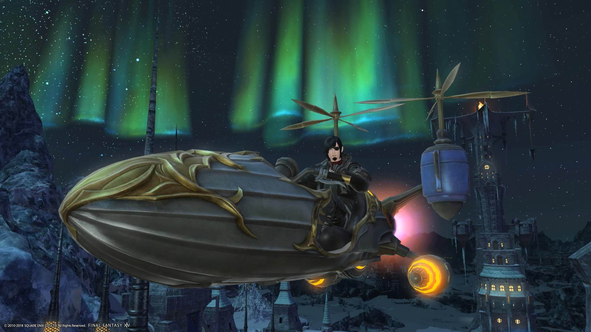 FFXIV: Shadowbringers Guide - How to Get the Falcon Mount