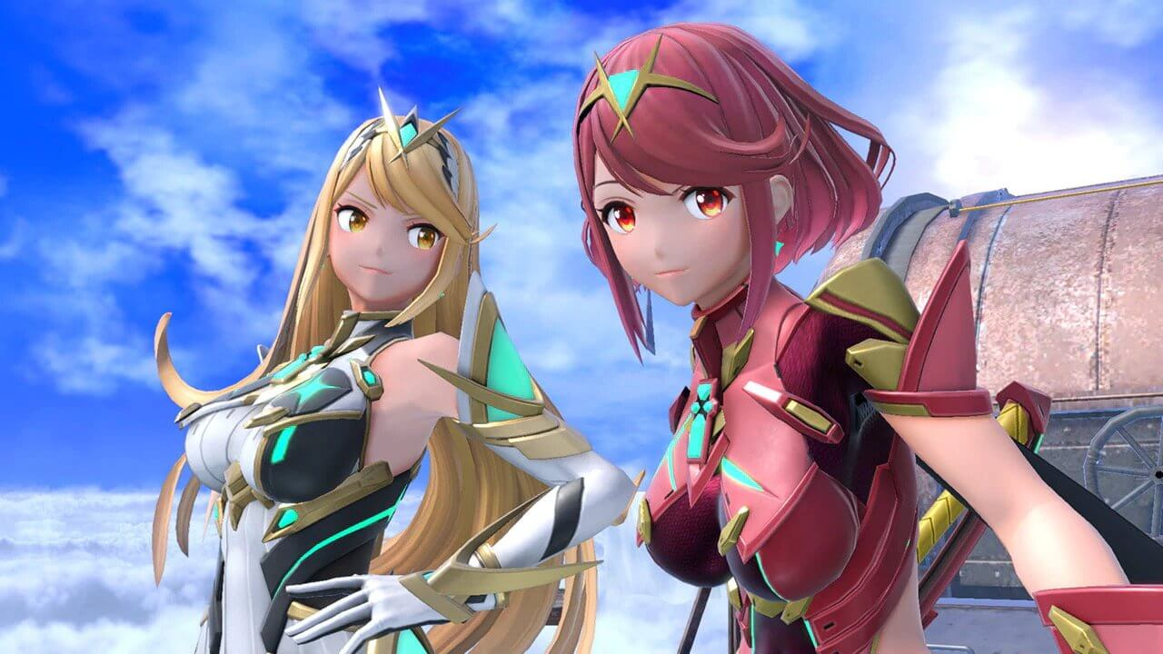 Pyra and Mythra Are Available Today in Super Smash Bros Ultimate