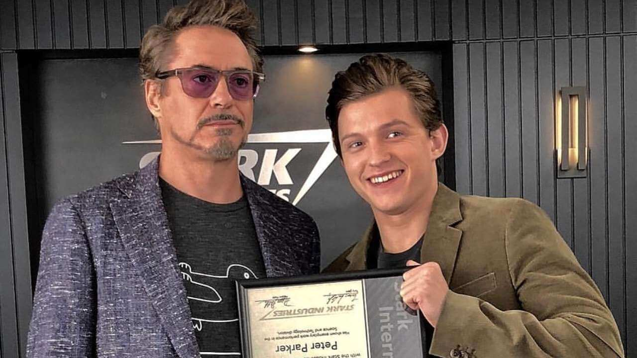 Robert Downey Jr. Praises Tom Holland for Handling Stardom