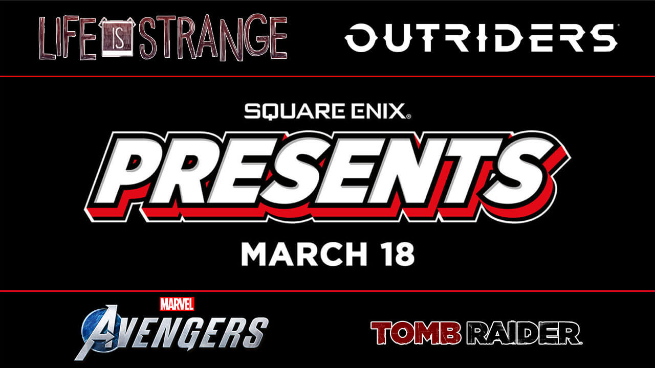 Square Enix Presents - Spring 2021: Schedules and Where to Watch