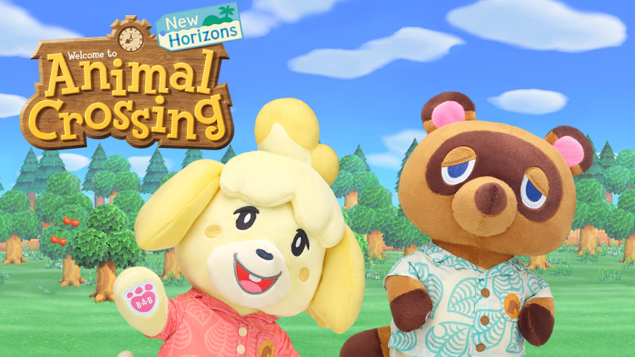 Animal Crossing Joins with Build-a-Bear for New Horizons Characters