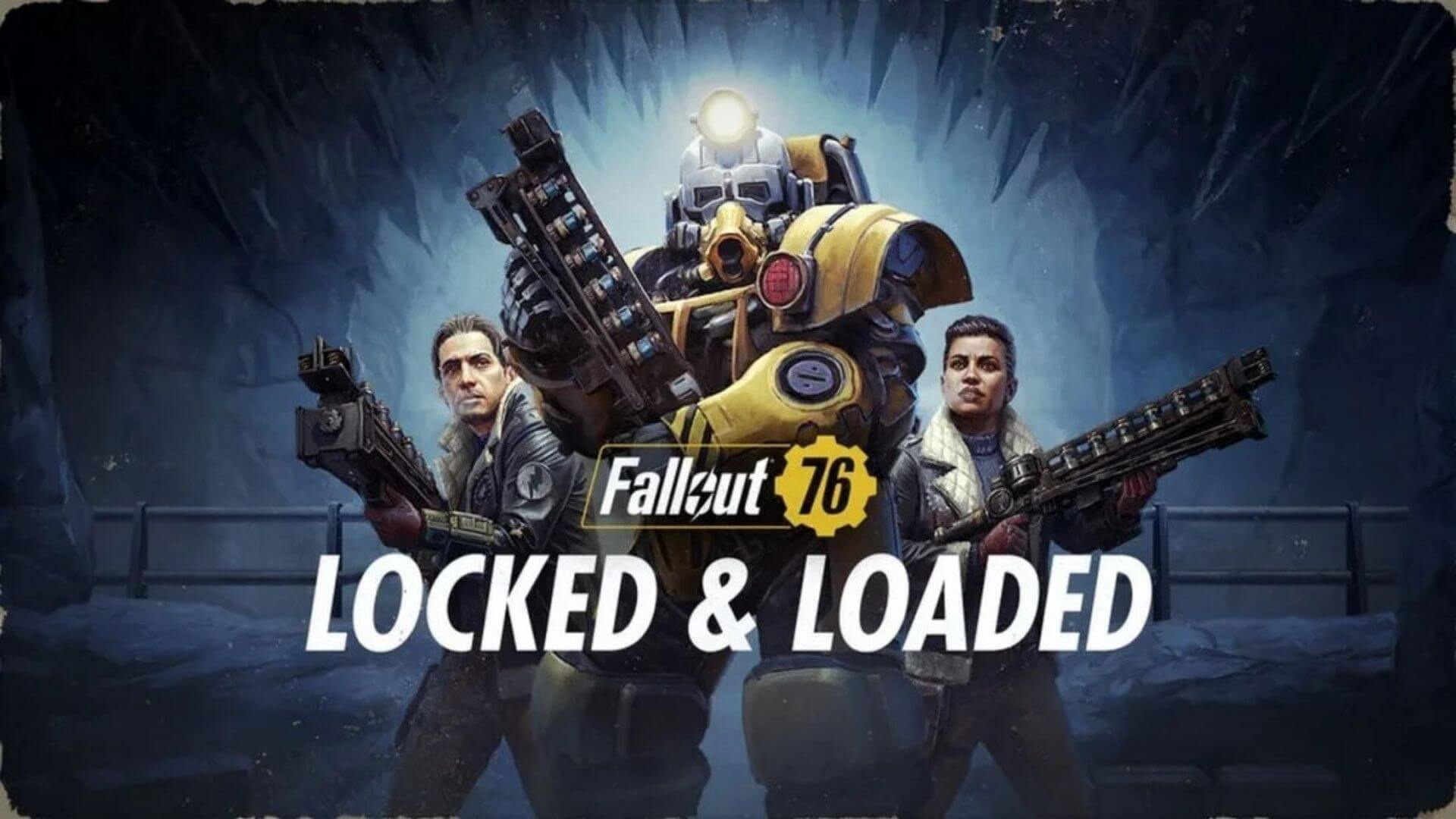 Fallout 76 Gets Locked and Loaded with Season 4 Update