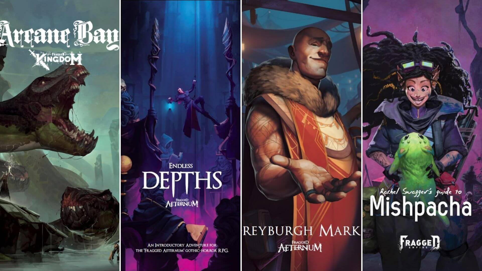 Fragged Empire Tabletop RPG Gets Four New Sourcebooks