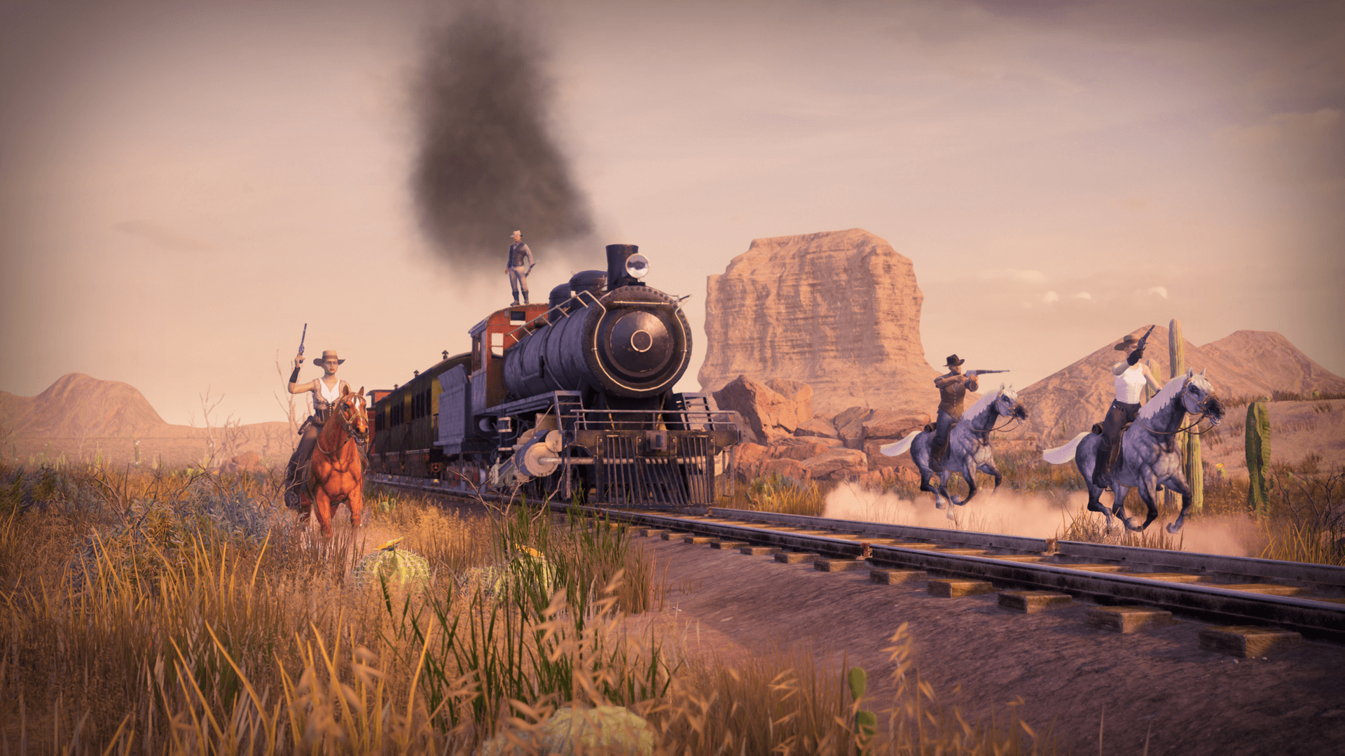 GRIT: Wild West Battle Royale Now in Beta Testing