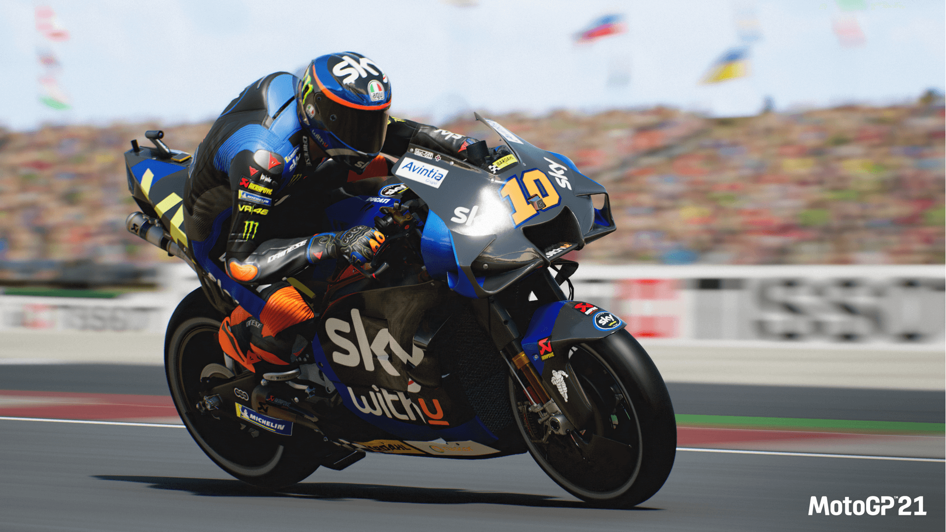 Moto GP 21 Game Review: Getting Close with the Road