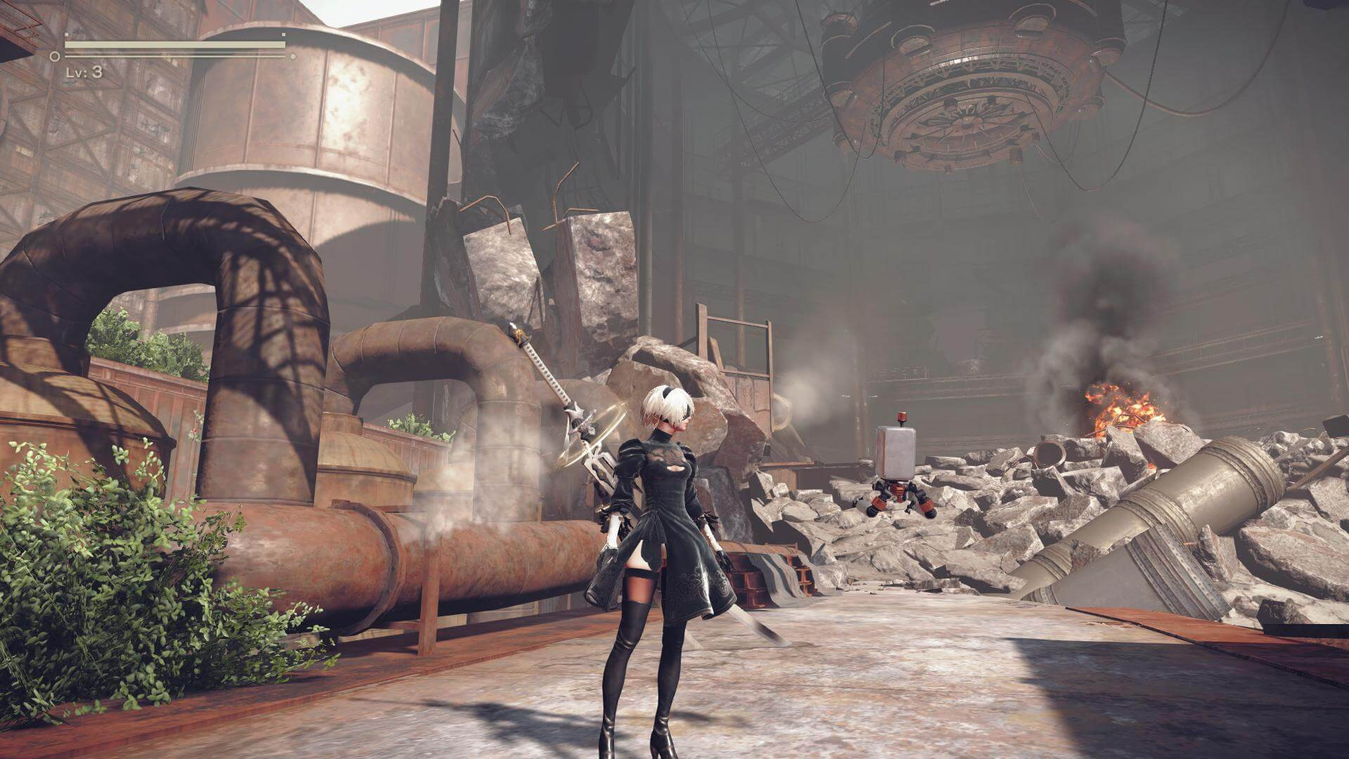 NieR: Automata Announces Upcoming Update for Steam Users