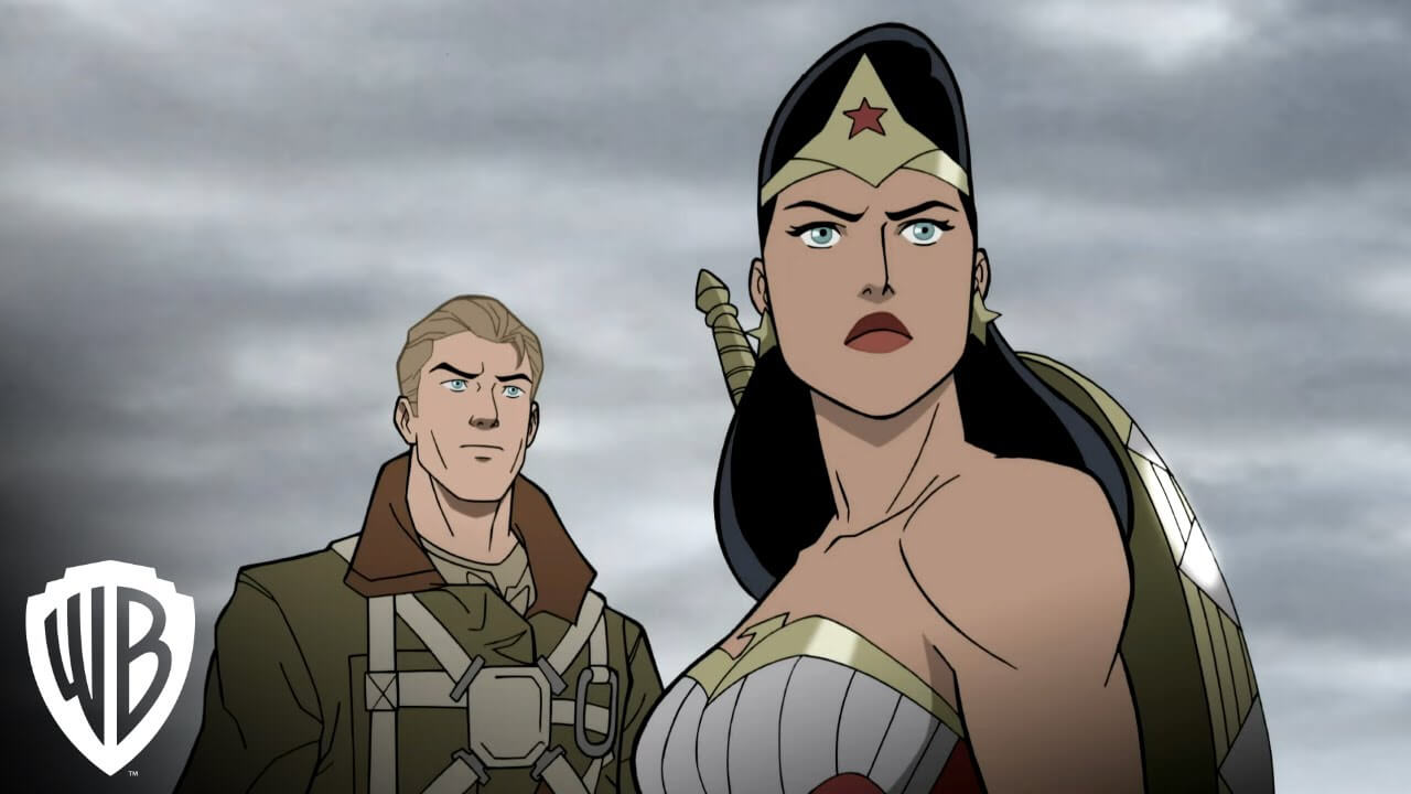 Justice Society: WWII Clip Saves Steve Trevor in a